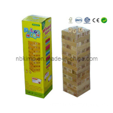 Nature Wooden Tower Game / Wooden Building Blocks (JM-M123)