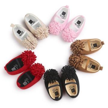 5 cores de algodão pano macio sola bebê sapatos infantis criança mocassins