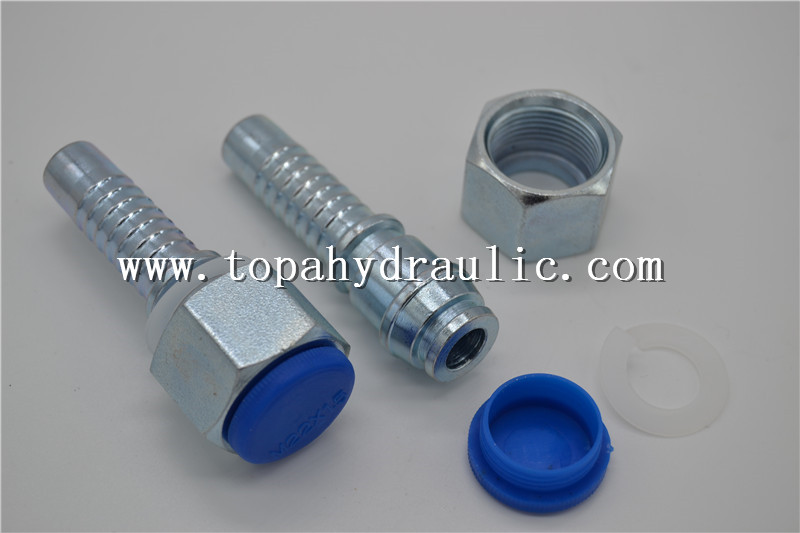20412 22 08t Reusable Hydraulic Hose Fittings
