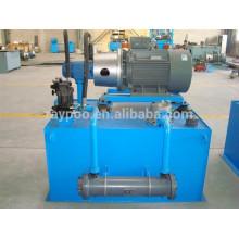 China oil hydraulische station elektrische hydraulische power pack