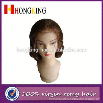 100% Brazilian Virgin Hair Side Part Lace Front Wig Made In China