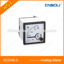 SCD48-A medidor del panel del amperio de la CA de 48 * 48m m