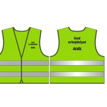 Yellow High Visibility Safety Vest, En/ANSI, Factory in Ningbo, China