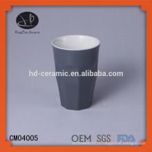 Caneca de material de grés sem alça, copos, copo de cerâmica, xícara de chá sem alça