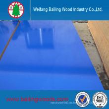 Holzmaserung Hochglanz UV-beschichtet / Melaminplatte / MDF