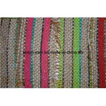 A forma 100% poliéster imprimiu a tela do sofá para o saco / roupa / vestido