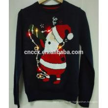16PKCS07 2016 Erwachsene Weihnachten Weihnachten Pullover mit LED-Leuchten