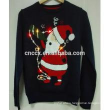 16PKCS07 2016 adults christmas Christmas sweater with LED lights