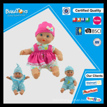 Wholesale little girls soft baby dolls for infants