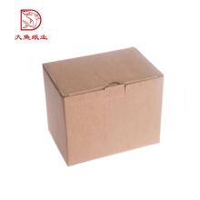 Différents types nouvelle boîte d'emballage à clapet recyclable bon marché