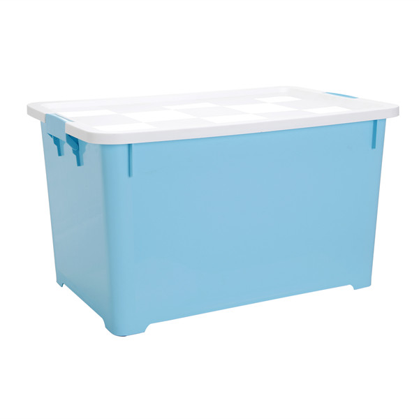 Storage Box with Sliding Wheels