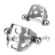 Inox 316L acier inoxydable chirurgical Tragus oreille bijoux Piercing
