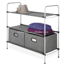 Cajón y armario para ropa de gran tamaño de tela no tejida
