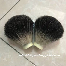Black Badger Hair Shaving Brush Knot Head Size 22mm