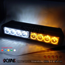 Double Row 16 LED Police 911 FBI CIA Emergency Warning Signal Strobe Flashing 12V - 24V Advisor Lightbar