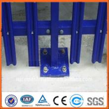 ISO9001 anping Factory Clôture de palissade de sécurité enrobée de pvc (fabricant)
