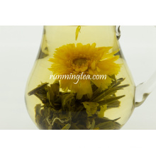 Té floreciente hecho a mano delgado té de florecimiento apto