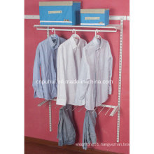 Wall Mounted Clothes Storage Rack (LJ1018)