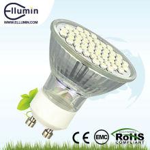 led gu10 dimmable led projecteur de lumière 3w
