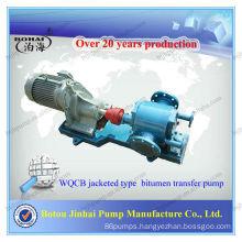 Jinhai heat preservation manual oil transfer gear pump (WQCB)