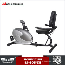 Indoor Home Use Fitness Exercício Flywheel Magnetic Recumbent Bike
