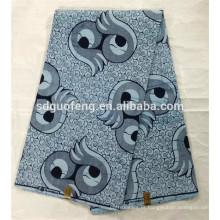 Wholesale 2017 novo design verdadeiro tecido cera africano