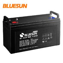 A bateria recarregável a menor de 12v 100ah 120ah 120ah para fora do sistema de grade