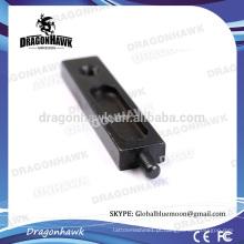 "1.85 ""Oval Black Iron Speed Tattoo Armature Bar"