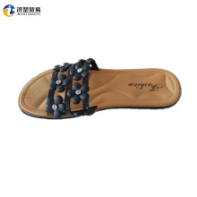 Sexy woman flowers ablaze flat sandals for ladies pictures
