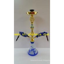 Babylon Style Zinc Alloy Nargile Smoking Pipe Shisha Hookah
