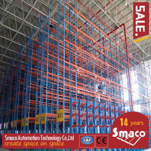 High Density SMACO Selective Heavy Duty Shuttle Metal Pallet Racks