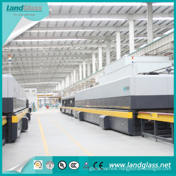 China Jetconvection CE Certificate Horizontal Tempered Glass Tempering Line