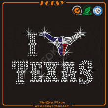 I love Texas wholesale heat transfer designs