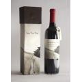Elegant Customized Matt Paper Wine Packaging Box