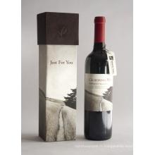 Cadeau de luxe Emballage Bouteille de vin en papier