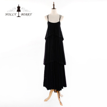 New Stylish 100%Cotton Floor-length Casual Evening Dresses