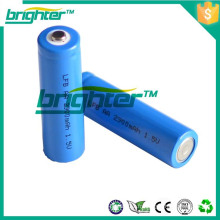 Aa 1.5v Li-ion batterie à basse température pour la lampe torche torche