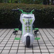 Новый мотоцикл Power Rider 360 с электрическим трехцилиндровым мотороллером Trike Kid's Bike Ride on