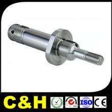 CNC transformou o torno que usava as peças de aço Ss304