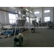 PVC Pelletizing Extrusion Production Line/Plastic Recycling Machine