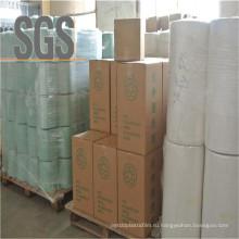 Белый Цвет Многослойных Выдувной Упаковки Рулонов Сенажа Пленкой