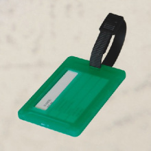 big green Luggage Tag