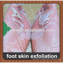 La FDA a prouvé des chaussettes jetables de pied pour des chaussettes non-tissées de soin de peau