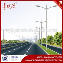 8m Street Light Pole prix avec bras