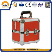 PRO Makeup Train Case with Silver Aluminum Frame