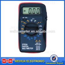 Multimètre analogique de poche DT83A avec test de batterie