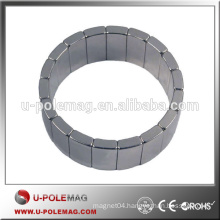 Strong Neodymium Magnets /N42H Arc Magnet /Magnetic Segment
