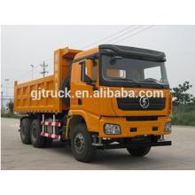 Shacman marca 6X4 drive dump truck para 10-25 metros cúbicos