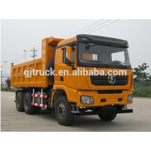 Shacman brand 6X4 drive dump truck for 10-25 cubic meter