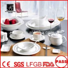 Vente en gros de haute qualité de haute qualité en porcelaine plaques de haute qualité de vaisselle pour banquet restaurant